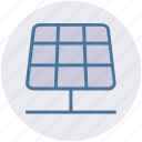 energy, power, renewable energy, solar electricity, solar energy, solar panels, solar power icon