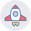 campaign, launch, marketing, rocket, seo, spaceship, startup icon