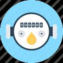 digital meter, electricity meter, energy, gas meter, meter