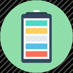 battery, battery charging, battery level, full battery, mobile battery icon