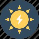 bright day, sun, sunny day, sunshine, morning icon
