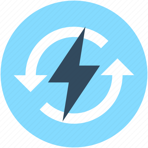 bolt, electricity, energy, power, thunder icon