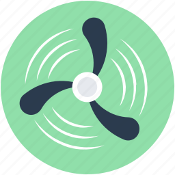 fanjet, turbine fan, wind energy, wind power, windmill icon
