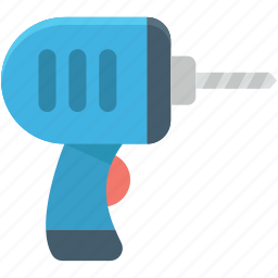 auger, drill machine, drill tool, drilling, hand tool icon