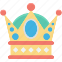 crown, gold crown, headgear, nobility, royal crown icon