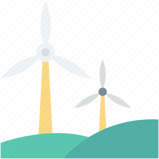 wind energy, wind power, wind turbine, windmill, windmill tower icon