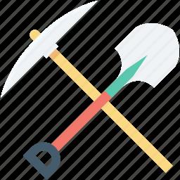 farming, farming tools, gardening tool, spade, spade tool icon