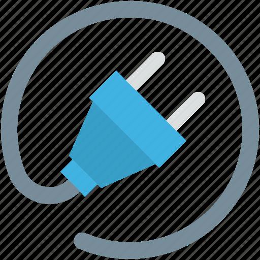 electrical plug, plug, plug connector, plug in, power plug icon