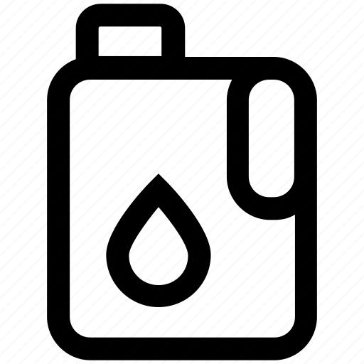 can, fuel can, gas can, gas container, gasoline can, jerry can icon