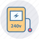 digital multimeter, energy, power, technician meter, voltage, voltage meter ampere icon