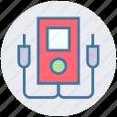 ampere, digital multimeter, enery, technician meter, voltage meter, voltmeter icon