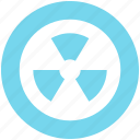 danger, energy, nuclear, power, radiation, radioactive, toxic icon