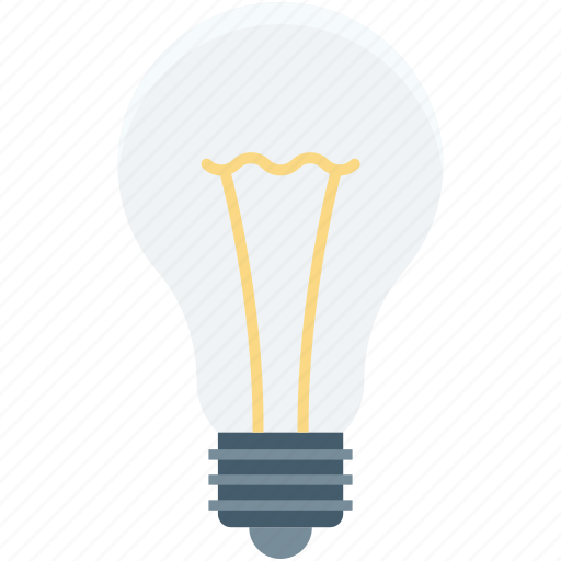 bulb, electric light, led bulb, light bulb, luminaire icon