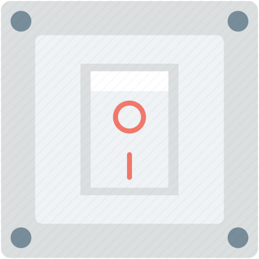 off, on, on off switch, power switch, switch socket icon