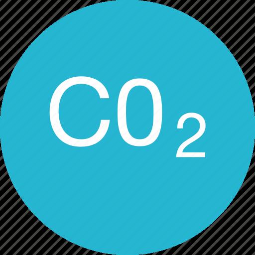 c02, create, energy icon