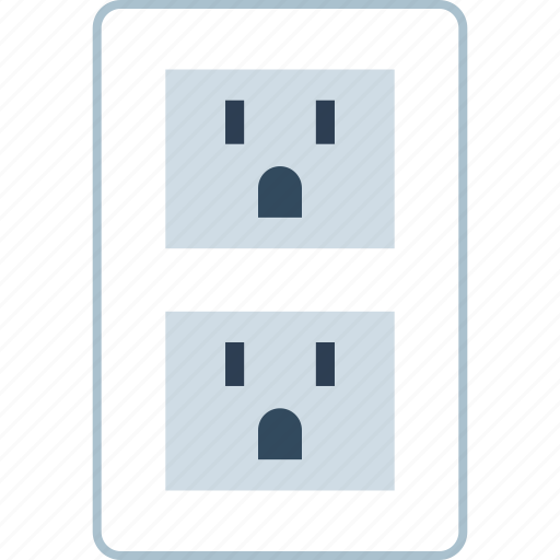 connect, energy, outlet, power icon