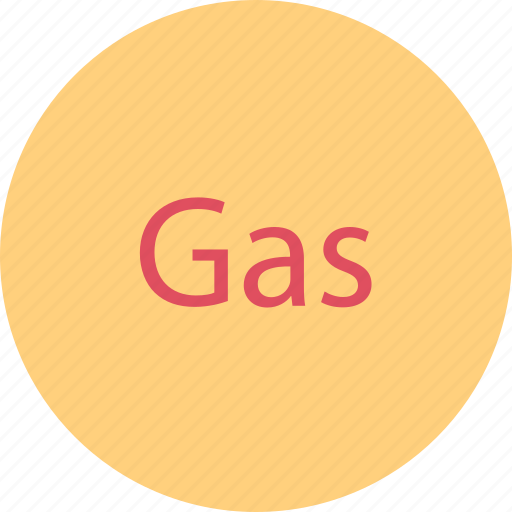 gas, gassed, power icon