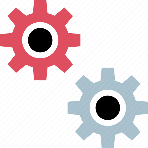 gears, setting, settings, working icon