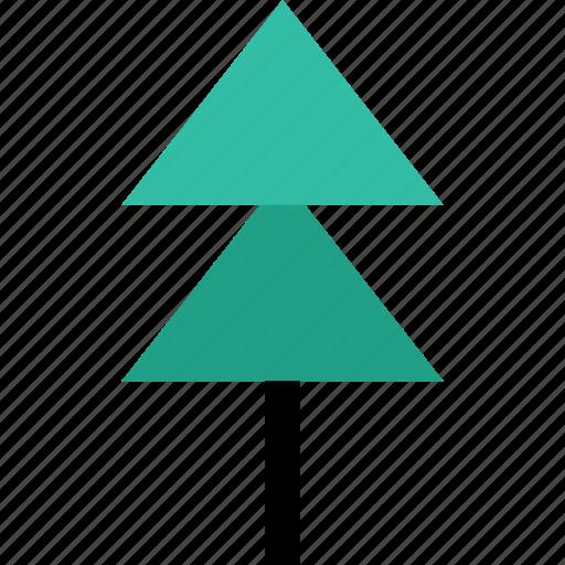 energy, outdoors, pine, tree icon