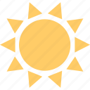 energy, hot, summer, sun icon