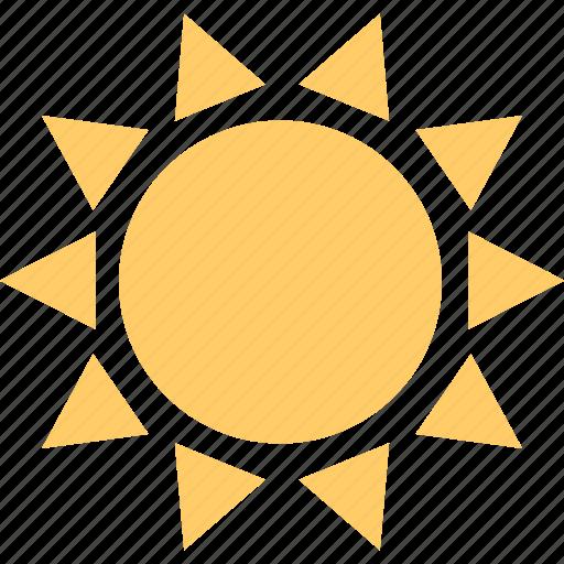 energy, hot, summer, sun icon