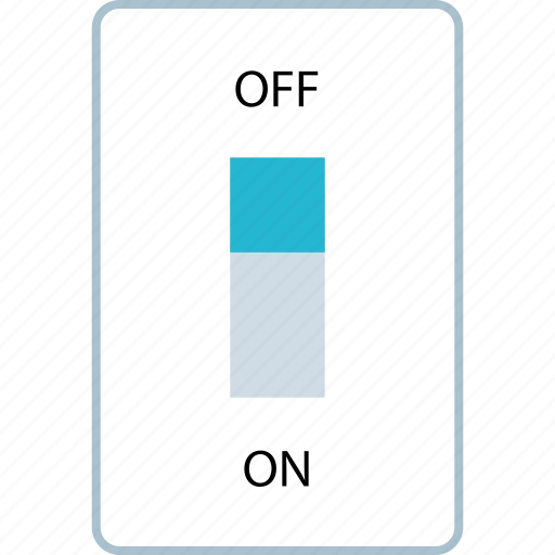 power, save, savings, switch icon