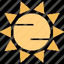 eneergy, hot, solar, summer icon