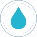 agua, drop, natural, water icon
