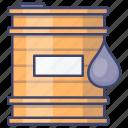 tank, oil, gasoline, barrel icon