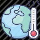 earth, warming, greenhouse, global icon