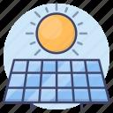 solar, power, green, energy icon