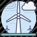 power, generator, wind, energy icon