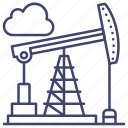 industry, well, energy, oil icon