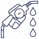 diesel, gun, petrol, fuel icon
