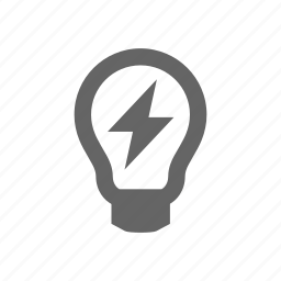 bulb, conservation, electricity, energy, industry, light, lightbulb, lightning, power, supply icon