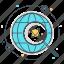atom, electric, reactor, uranium icon