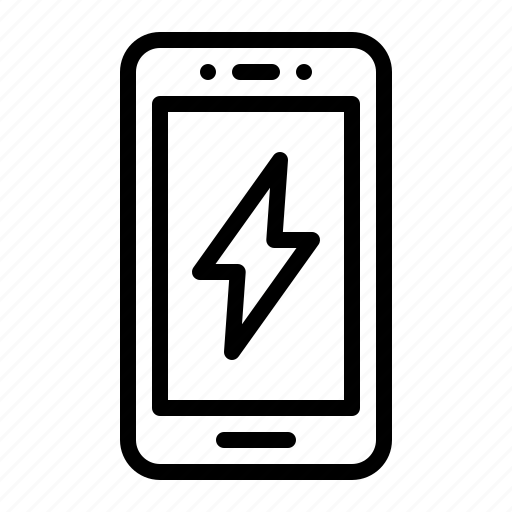 charging, electric, phone, power, smartphone icon