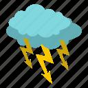 electricity, thunder, energy, lightning, bolt, storm, cloud