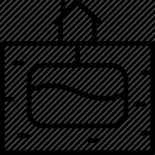 home, household, liquid, storage, supply, undergroud icon