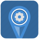 app, application, engine, gps, location, place icon