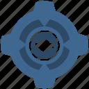 detail, engine, gear, part, spare icon