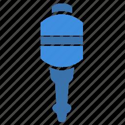 detail, engine, part, plug, spare, spark icon