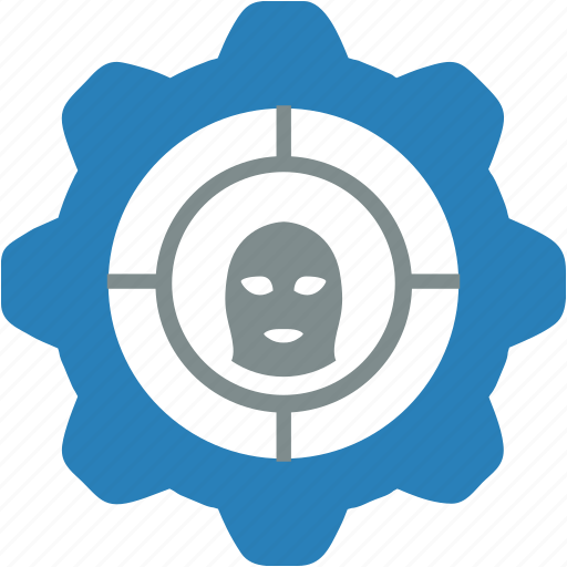 attention, gear, grab, police, settings, theft, warning icon