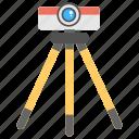 engineering, survey instrument, surveyor engineering, theodolite, theodolite with tripod icon