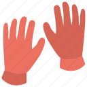 clothing, construction gloves, gloves, handyman, protective gloves icon