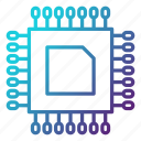 component, cpu, electronics, engineering, equipment, hardware icon