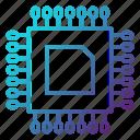 component, cpu, electronics, engineering, equipment, hardware icon