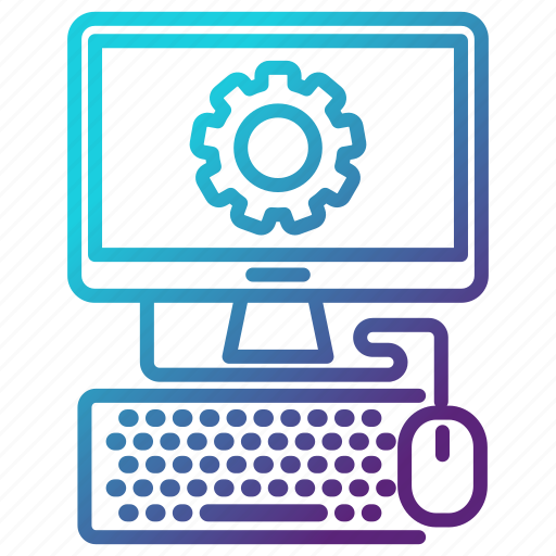 computer, engineering, hardware, it, monitor, repair icon