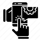 engineering, mobile, repair, tools icon