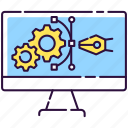 developing, engineering, prototype, prototype icon icon
